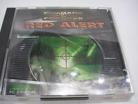 Command and Conquer Red Alert PC CD-ROM Video Game NICE!