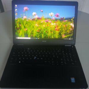 """Notebook Dell Latitude E5550 15,6""""-Ram 8GB SSD 240GB Webcam Win 10 pro"""