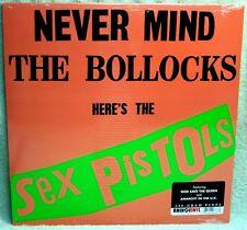 SEX PISTOLS Never Mind The Bollocks LP PUNK ROCK 180 Gram REISSUE Sid Vicious XX
