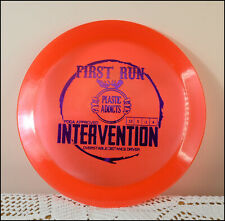Discraft Plastic Addicts Intervention distance driver Red 172g New! First Run!