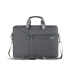 "WIWU Laptop Sleeve Messenger Shoulder Bag Carry Briefcase for MacBook HP 13.3""UK"