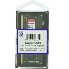 Kingston 8GB (1 x 8GB) PC4-25600 (DDR4-3200) Memory Card (KVR32S22S88)