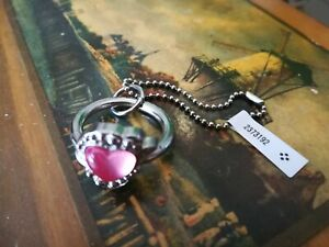Sailor Moon Usagi's Pink Heart Engagement Ring from Mamoru Gashapon Keychain