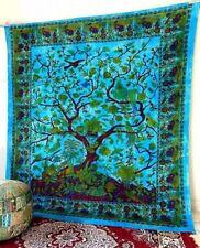 Tree Of Life Indian Mandala Tapestry Wall Hanging Hippie Gypsy Bohemian Beach