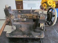 1918 White Rotary Sewing Machine with Light (Working Condition) Original