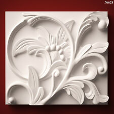 (628) STL Model Wall Panel for CNC Router 3D Printer  Artcam Aspire Cut3d