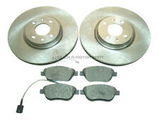 FIAT MULTIPLA 1.6 1.9 JTD 2005-2011 FRONT 2 BRAKE DISCS AND PADS (BOSCH CALIPER)