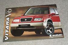 Suzuki Vitara V6 FOLLETO 1995