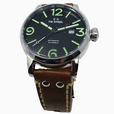 TW Steel MS15 Maverick watch Mens Automatic Watch with Black Dial