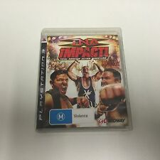 PS3 GAME TNA IMPACT TOTAL NONSTOP ACTION WRESTLING