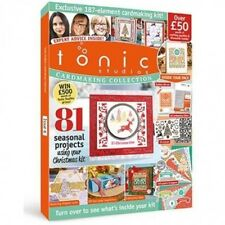 TONIC STUDIOS MAGAZINE CARDMAKING COLLECTION ISSUE 6 FREE NORDIC DIES & STAMPS