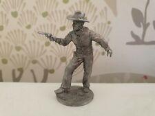Metal Figurine 54mm Un-painted cowboy Collectible wild west