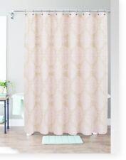 Threshold Pink Moroccan Medallion Shower Curtain New