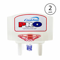 Swimline Super Wide Cool Jam Pro Inground Swimming Pool Basketball Hoop (2 Pack)