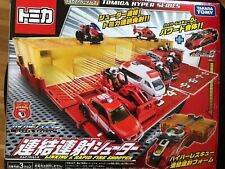 Tomica Hyper Rescue consolidated fire Shooter, Pre-owned, Complete with box