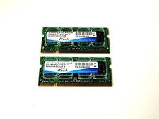Adata 2GB (2X1) DDR2 800Mhz SODIMM Laptop Memory RAM M2XADKH3134C1U1E5E