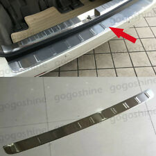 Stainless Steel Rear Outer Trunk Sill Guard Cover Protector for Toyota Sienna