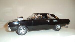 1/18 GREENLIGHT 1969 Chrysler Vf Valiant Drag #242 OF 708