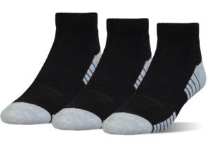 Under Armour HeatGear Tech Low Cut Socks 3-Pack Men's Size M8-12 W9-12 5726