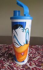 Tupperware NEW  Donald Duck  DISNEY  Tumbler 16 oz  470 ML Flip Top Spout SEAL