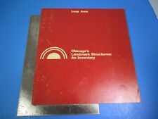 Vintage 1974 Chicago's Landmark Structure An Inventory Booklet 1st Edition L1018