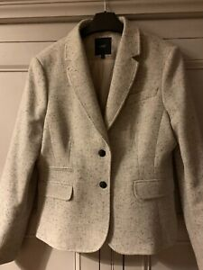 Next Wool Mix Gray Suit Size 14R
