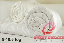 Australian Merino Wool Duvet/Quilt  Double Size,  Medium 8-10.5 tog + pillows