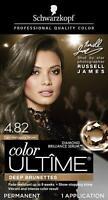 Schwarzkopf Color Ultime Permanent Hair Color Cream, 4.82 Dark Mahogany Brown