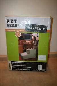 Pet Gear Easy Step II Pet Stairs - For Cats / Dogs up to 150 Pounds