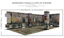 "In STOCK ""Abandoned House"" 2.0 Pop-Up DIorama Display 1/12 Scale Action Figures"