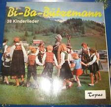 LP bi-BA-butzemann 38 BAMBINI CANZONI Topaz