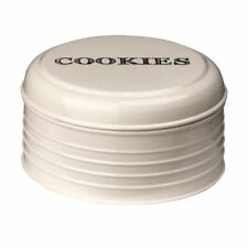 Premier Housewares Sketch Biscuit Tin - Cream