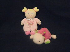 BABY STARTERS MY FIRST BABY DOLL,CARTERS LADYBUG PLUSH