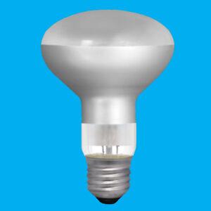 4x 100W R80 Reflector Incandescent Spot Light Bulb ES E27 Edison Screw Heat Lamp
