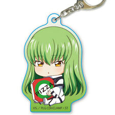 Code Geass Lelouch of the Rebellion C.C. Character Acrylic Key Chain Mascot