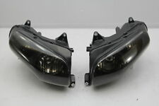 14 Honda Goldwing 1800 F6B Headlight Light Housing Left Right Set BLACK TINT