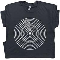 Solar System Planets Tee Shirt Science Geek Astronomy Galaxy Uranus Pluto Saturn