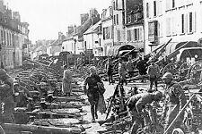 WW1 - Villers-Cotterêts 1918 - Matériels pris à l'ennemi