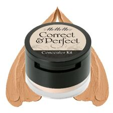 MeMeMe CORRECT & PERFECT CONCEALER Nude Cream Foundation Loose Powder Under Eye