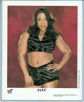 WWE JAZZ P-753 OFFICIAL LICENSED AUTHENTIC ORIGINAL 8X10 PROMO PHOTO VERY RARE