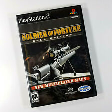 Soldier of Fortune: Gold Edition (Sony PlayStation 2, 2001) Fast Free Shipping!!