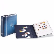 Album monedas Euros + 7 hojas para 21 juegos de monedas ref. 338425