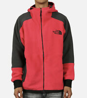 New The North Face Classic Fleece Hoodie Men's Size Small-Medium Black Rose Red