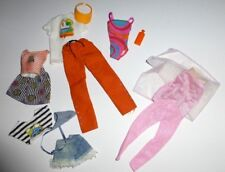 Barbie Doll Outfits Accessories 1990s  Swimsuit, Pants Tops Skirt Shorts Purse