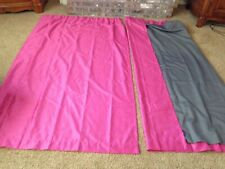 """JCP Home Expressions Pink Window Panels Room Darkening lining 50""""x84"""" set of 2"""