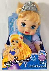 13 Inches Baby Little Mermaid Preschool Princess Soft Action Doll Toy 2+