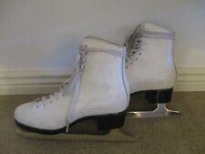 Lange Caprice Women'S Ice Skates, Icm Astra Chrome Blades, Sz. 6