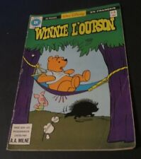 1979 WINNIE THE POOH NO.9  WALT DISNEY HERITAGE COMICS IN FRENCH LEARN FRENCH