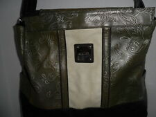 Miche Bag Shell Erin Purse Cover Olive Green Paisley Retired