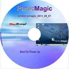 Réinitialiser le mot de passe Windows parted Magic éditeur de partition 2013_08_01 + utils